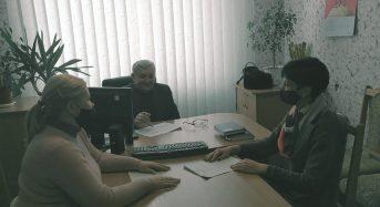 Директором Переяслав-Хмельницької міськрайонної філії Київського обласного центру зайнятості було проведена робоча зустріч з директором Державного професійно-технічного навчального закладу «Переяслав-Хмельницький   ЦПТО»