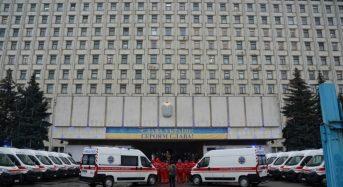 Обласний центр екстреної медичної допомоги отримав 20 нових автомобілів