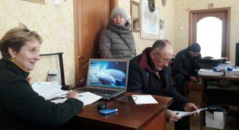 Відбулась робоча зустріч старости Валентини Зінченко з керівником приватно-орендної агрофірми «Україна», депутатом Переяславської міської ради Григорієм Порало