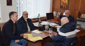 Міський голова Вячеслав Саулко провів робочі зустрічі