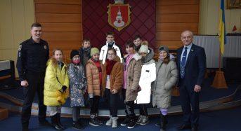 Учні ЗОШ №1 здійснили екскурсію до міської ради та місцевого відділу поліції