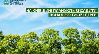 На Київщині готуються висадити більше 390 тисяч дерев усього лише за один день