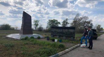 Депутати міської ради відновили фундаментну основу постаменту пам'ятного знака героям Букринського плацдарму