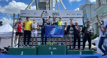 """Команда з Переяслава """"Semex Bulls"""" показала третій результат у змаганнях з триатлону на короткій дистанції"""