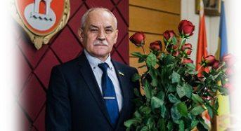 Вітаємо з ювілеєм міського голову Вячеслава Володимировича Саулка!