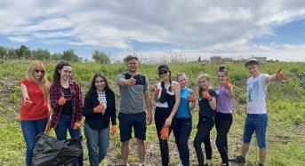 Молодіжна толока відбувалось в рамках Всеукраїнської акції до Дня парків