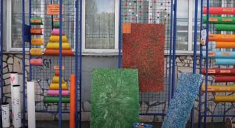 У Переяславській школі демонстрували екологічні арт-інсталяції