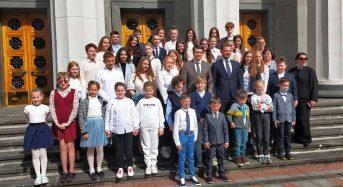 Дмитро Разумков та Сергій Бабак зустрілися з дітьми-лідерами Київщини