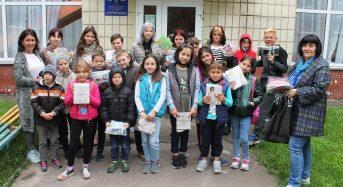 Службовці Центру зв'язку та управління ДСНС України провели благодійний захід для дітей