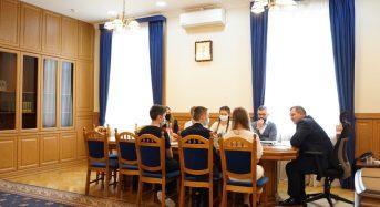 Відбулась зустріч депутатів Обласної Ради Дітей Київщини з головою Київської обласної державної адміністрації