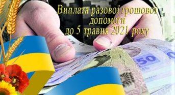 Виплати до 5 травня 2021 року затримуються