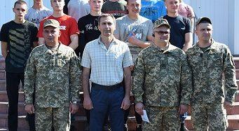 Відбулися урочисті проводи призовників до лав Збройних Сил України (Фото)