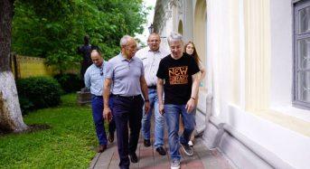 Відбувся візит Міністра культури України Олександра Ткаченка до Переяслава