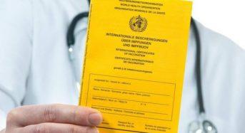 Роз'яснення щодо Міжнародного свідоцтва про вакцинацію