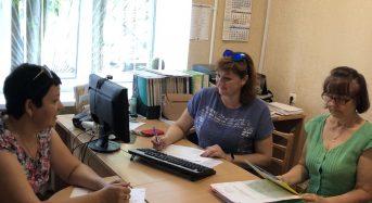 Фахівці управління соціального захисту населення та міськрайонної філії центру зайнятості обговорили аспекти детінізації відносин у сфері зайнятості та оплати праці