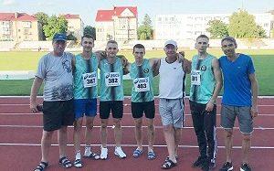 Атлети Переяславської ДЮСШ гідно виступили на чемпіонаті України з легкої атлетики серед юніорів