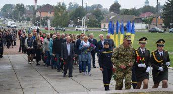 У День міста переяславці вшанували пам'ять загиблих воїнів