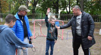 """У рамках проекту """"Активні парки – локації здорової України», у місті стало на одну спортивну локацію більше"""