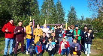 У місті Славутич і селі Квітневе 6 жовтня відкрили сучасні спортивні майданчики.